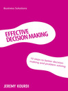 Effective Decision Making (eBook)