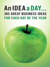 An Idea A Day (eBook)