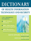 Dictionary of Health Information Technology and Security (eBook)