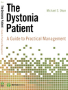 The Dystonia Patient (eBook): A Guide to Practical Management