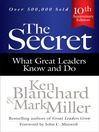 The Secret (eBook): What Great Leaders Know and Do