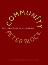 Community (eBook): The Structure of Belonging