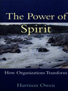 The Power of Spirit (eBook): How Organizations Transform