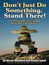 Don't Just Do Something, Stand There! (eBook): Ten Principles for Leading Meetings That Matter