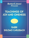 Teachings of Joy and Oneness (MP3)