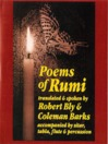 Poems of Rumi (MP3): Translated and spoken by Robert Bly and Coleman Barks