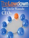 Top Tips for Wannabe CEOs (MP3)