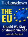 The EU (eBook): Should we stay or sould we go?