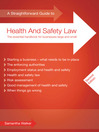 A Straightforward Guide to Health and Safety Law (eBook)