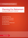 Planning for Retirement (eBook): Managing Retirement Finances