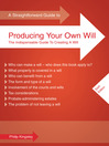 A Straightforward Guide to Producing Your Own Will (eBook)