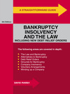 A Straightforward Guide to Bankruptcy, Insolvency and the Law (eBook)