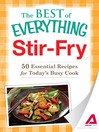 Stir-Fry (eBook): 50 Essential Recipes for Today's Busy Cook