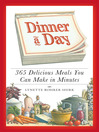 Dinner a Day (eBook): 365 Delicious Meals You Can Make in Minutes
