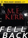Fell Back (eBook): Fell Series, Book 2