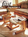 Fast Furniture (eBook): 15 Innovative Projects