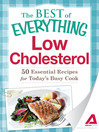 Low Cholesterol (eBook): 50 Essential Recipes for Today's Busy Cook