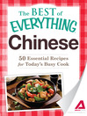 Chinese (eBook): 50 Essential Recipes for Today's Busy Cook