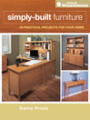 Simply-Built Furniture (eBook)