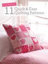 Quilt Essentials - 11 Quick & Easy Quilting Patterns (eBook)