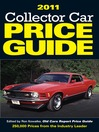 2011 Collector Car Price Guide (eBook)