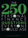 The 250 Personal Finance Questions Everyone Should Ask (eBook)
