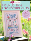 I Love Cross Stitch Friendship & Loving Thoughts (eBook): 17 Designs to Lift the Heart