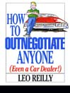 How To Outnegotiate Anyone (eBook)