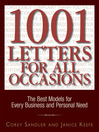 1.001 Letters For All Occasions (eBook): The Best Models for Every Business and Personal Need
