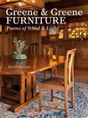 Greene & Greene Furniture (eBook): Poems of Wood & Light