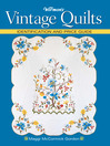 Warman's Vintage Quilts (eBook): Identification and Price Guide