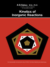 Kinetics of Inorganic Reactions (eBook): The Commonwealth and International Library: Chemistry Division