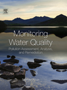 Monitoring Water Quality (eBook): Pollution Assessment, Analysis, and Remediation