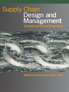 Supply Chain Design and Management (eBook): Strategic and Tactical Perspectives