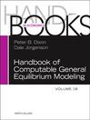 Handbook of Computable General Equilibrium Modeling (eBook)