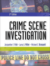 Crime Scene Investigation (eBook)