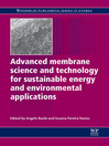 Advanced Membrane Science and Technology for Sustainable Energy and Environmental Applications (eBook)