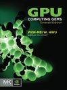 GPU Computing Gems Emerald Edition (eBook)
