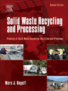 Solid Waste Recycling and Processing (eBook): Planning of Solid Waste Recycling Facilities and Programs