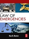 The Law of Emergencies (eBook): Public Health and Disaster Management