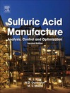 Sulfuric Acid Manufacture (eBook): analysis, control and optimization