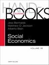 Handbook of Social Economics, Volume 1B (eBook)