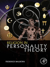 Religion in Personality Theory (eBook)