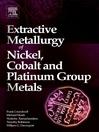 Extractive Metallurgy of Nickel, Cobalt and Platinum Group Metals (eBook)