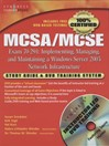 MCSA/MCSE Implementing, Managing, and Maintaining a Microsoft Windows Server 2003 Network Infrastructure (Exam 70-291) (eBook): Study Guide and DVD Training System