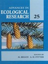 Advances in Ecological Research (eBook): Volume 25