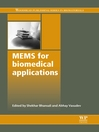 Mems for Biomedical Applications (eBook)