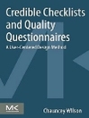 Credible Checklists and Quality Questionnaires (eBook): A User-Centered Design Method