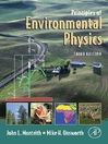 Principles of Environmental Physics (eBook)