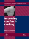 Improving Comfort in Clothing (eBook)